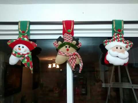 Cenefa navidad Pinterest Cenefa, Cortinas navideñas y Navidad