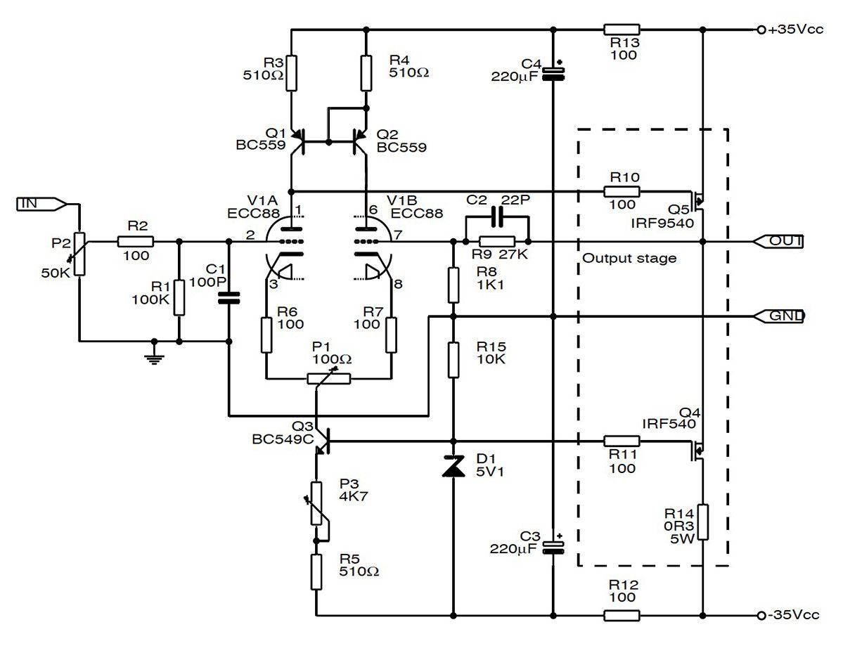 Build a Hybrid Tube/MOSFET SE Amp | Electronics | Valve