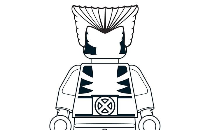Mighty Micro Wolverine | LEGO® Coloring Sheets | Pinterest