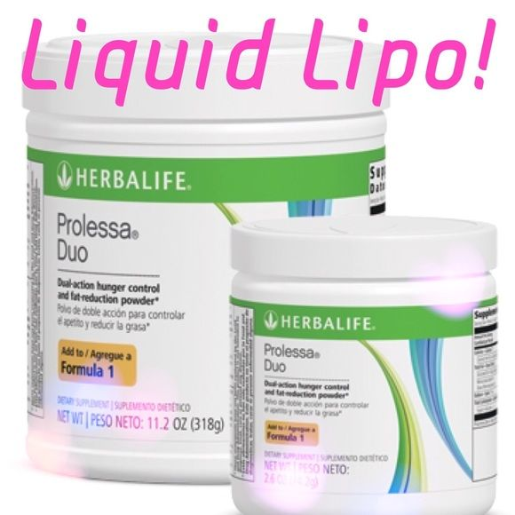 Herbalife Prolessa duo aka Liquid Lipo It really is like ...