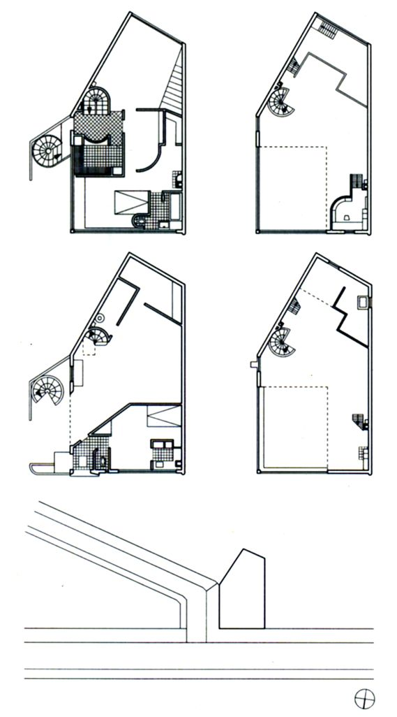 Maison atelier ozenfant paris par le corbusier for Piani immobiliari moderni