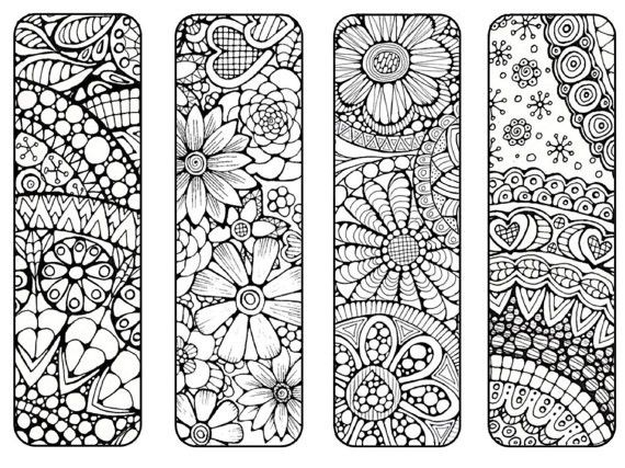 Color Book Marker Pages Nice Bookmark Coloring Pages Bookmarks Mushroom Page For Free On Bookma Coloring Bookmarks Bookmarks Printable Free Printable Bookmarks