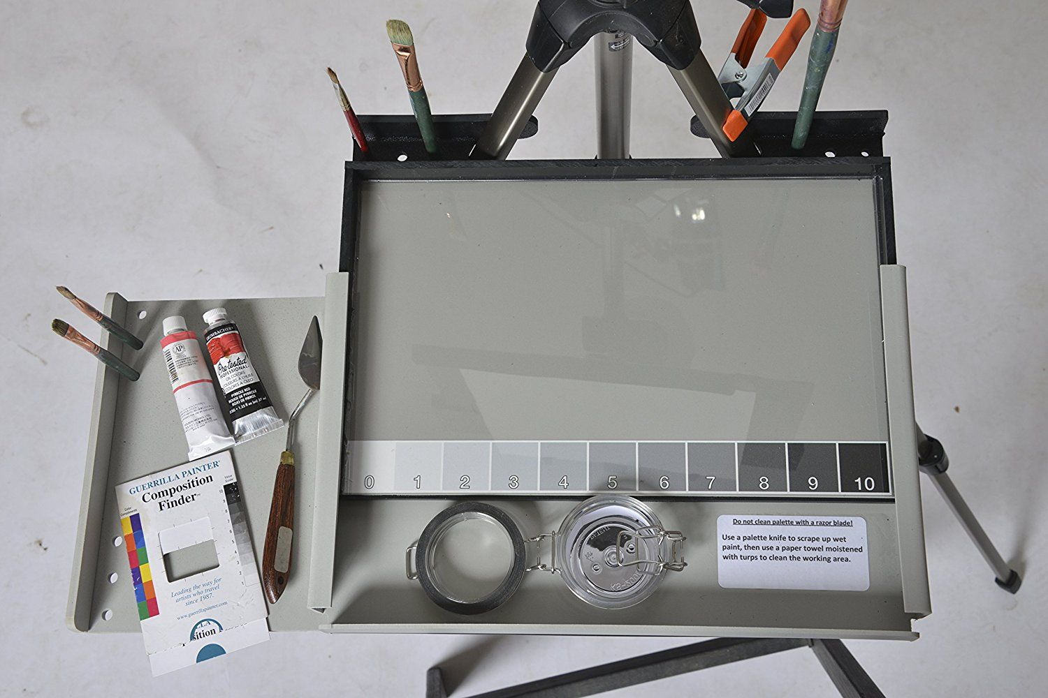 Advanced Series En Plein Air Pro Oil & Acrylic Easel Package with Sliding Shelf