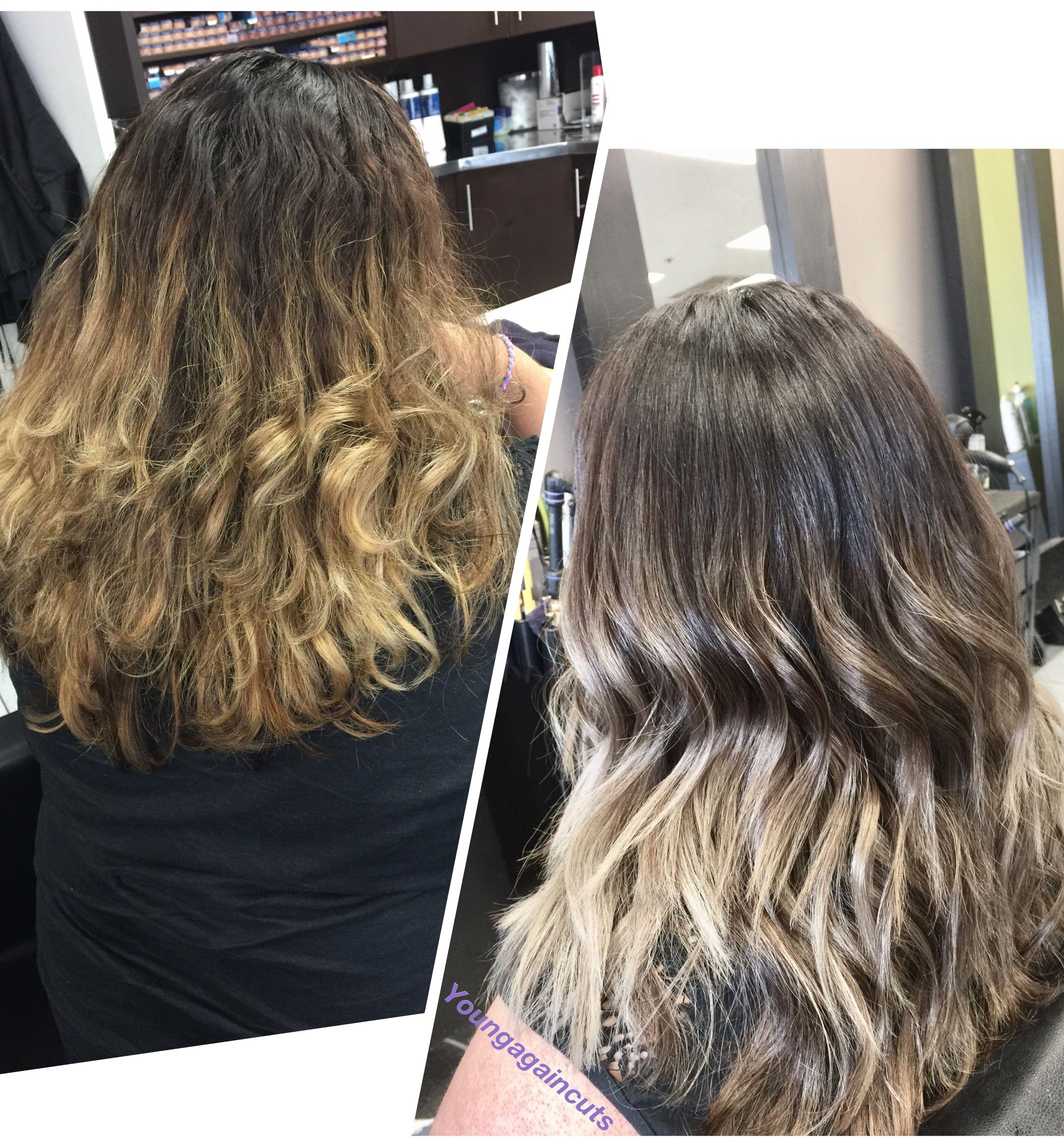 Ashy Hair Color Chart