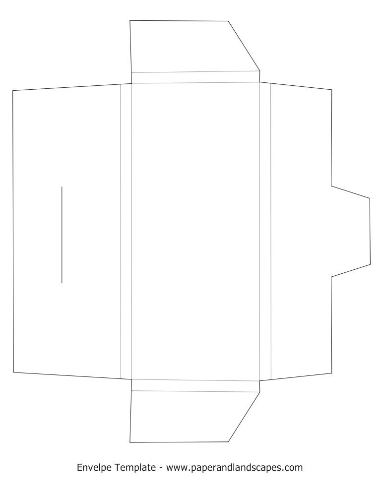 Make Your Own Cute Box Envelopes Diy Envelope Template Box Template Printable Handmade Box