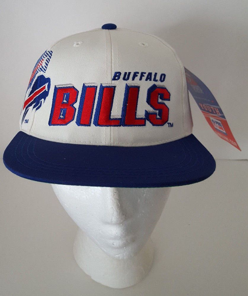 Vtg Buffalo Bills Snapback Pro Line Authentic Youth Cap Hat NFL Football  New  SportsSpecialties  BuffaloBills eacb79631