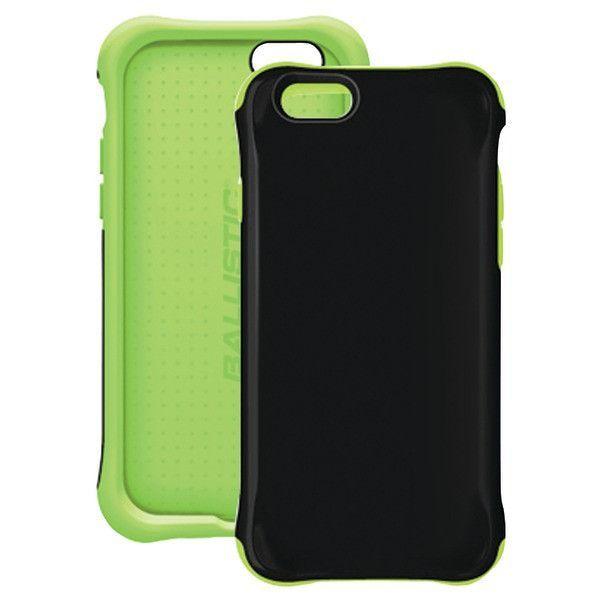 "iPhone(R) 6 4.7"" Urbanite(TM) GLOW Case (Black/Green) - BALLISTIC - UR1413-A89C"