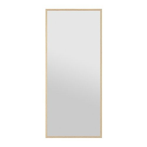 stave mirror ikea can be hung horizontally or vertically safety film reduces damage if glass is. Black Bedroom Furniture Sets. Home Design Ideas