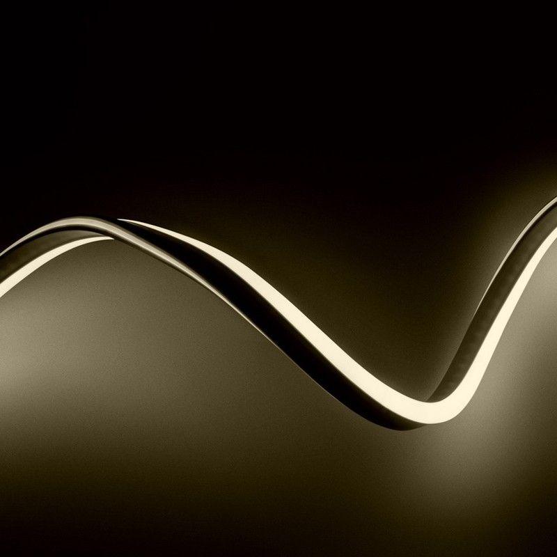 Gaine Flexible Led Neon 120led M 10 Metres Blanc Chaud Ledkia