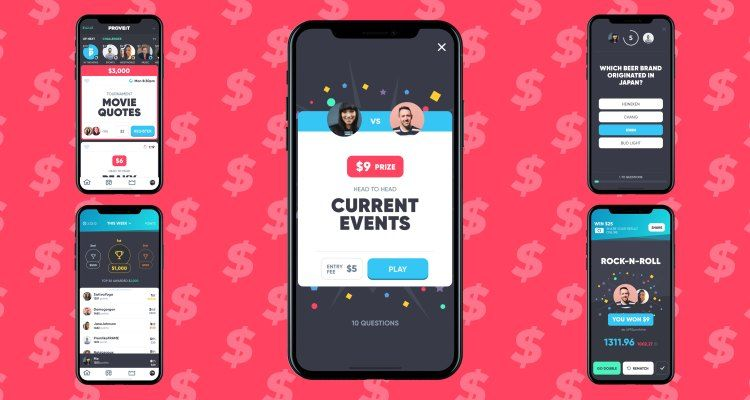Bet money on yourself with Proveit, the 1vs1 trivia app