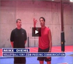 In this video Mike Diehl talks about how communication is essential for players to get success in volleyball passing. Mike tells that players should talk quickly and clearly during passing. In this video mike also suggest tips for communication. To see video please visit at http://volleyball1on1.com/instructors/mike-diehl-volleyball/