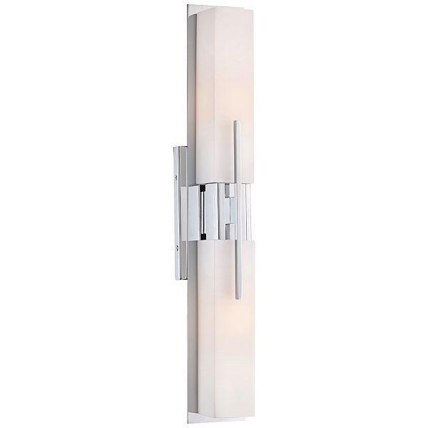 Midtown Chrome 4 1/2-Inch-W Possini Euro Bath Bar Light - #EUT9731 ...