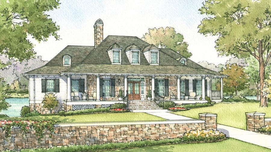 11 Ranch House Plans That Will Never Go Out Of Style Lake View House Plans Ranch House Plans Unique House Plans