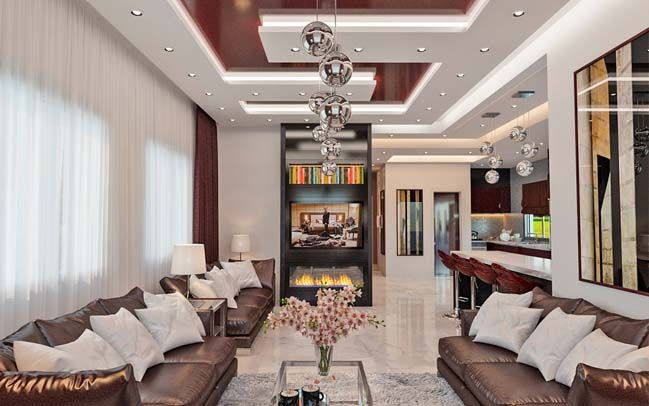 Luxury Interior Design Ideas Living Room For A Big Family  Luxury Simple Big Living Room Designs 2018