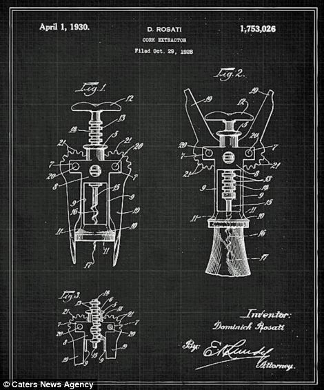 Blueprints show inner workings of some famous inventions patent blueprints show inner workings of some famous inventions malvernweather Choice Image