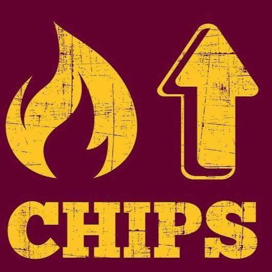 Fire Up Chips Central Michigan University Central Michigan Football Central Michigan