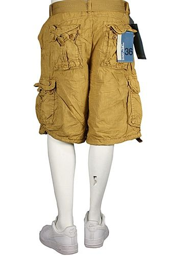 4b4a54eddc Jordan Craig Cargo Shorts Straight Fit Wheat   Men's Clothing ...