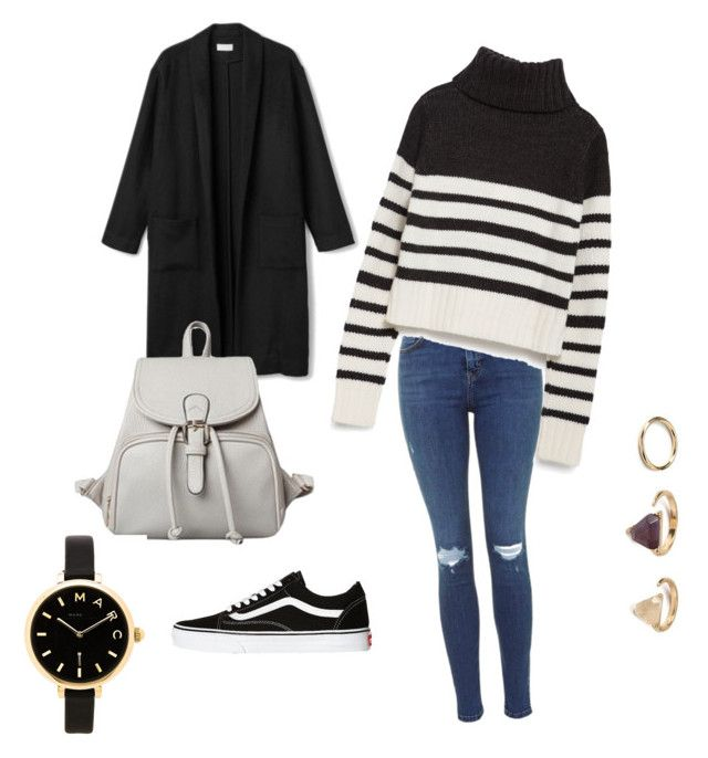 """""""Streetstyle Love"""" by dinah-hildebrand on Polyvore featuring Mode, Zara, Vans, Forever 21 und Marc by Marc Jacobs"""