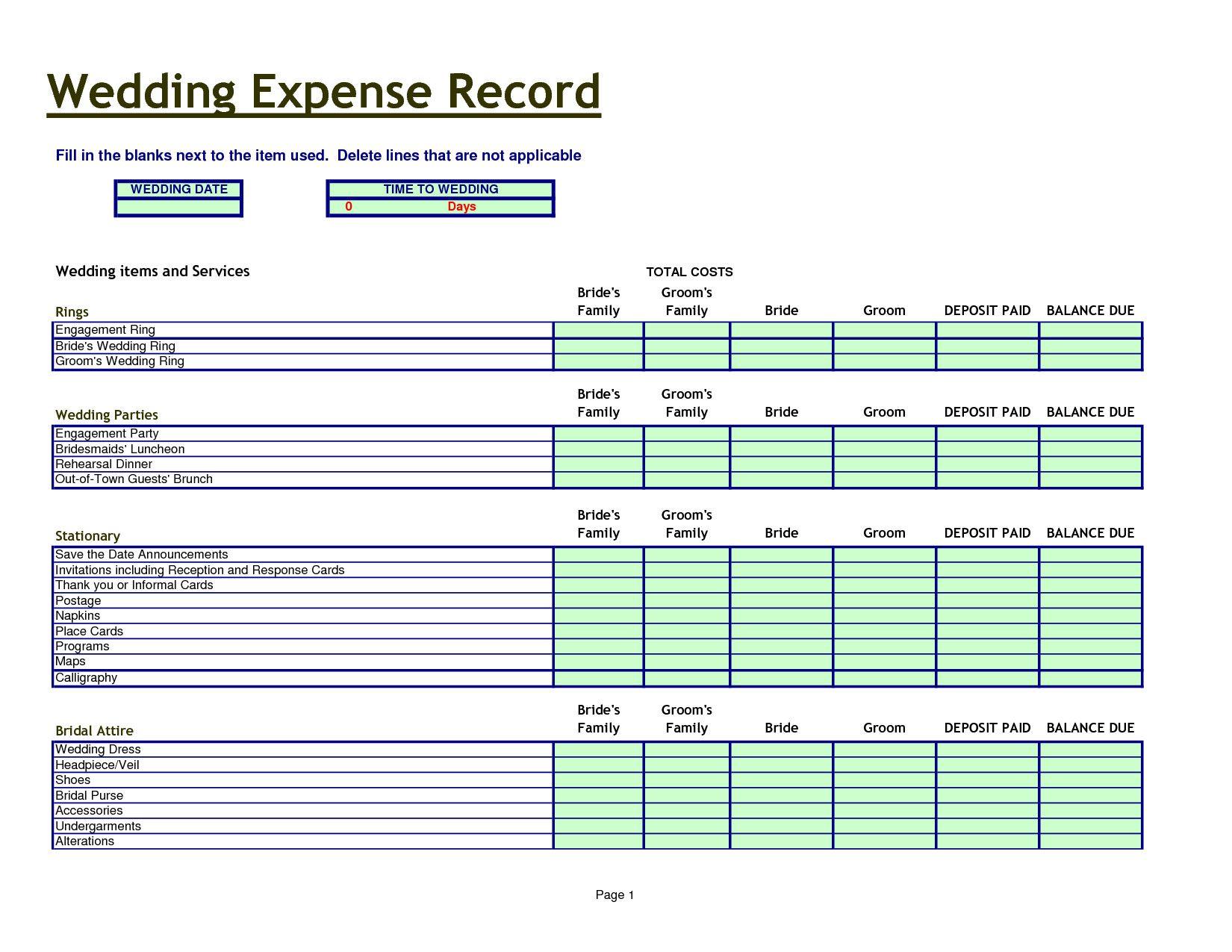 Wedding Planning Checklist Template Luxury Printable Wedding Planning Check Event Planning Spreadsheet Free Wedding Budget Spreadsheet Wedding Budget Worksheet [ 1275 x 1650 Pixel ]