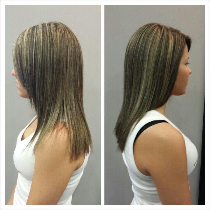 Highlight With Ash Toner Color Highlight Hair Hair Styles