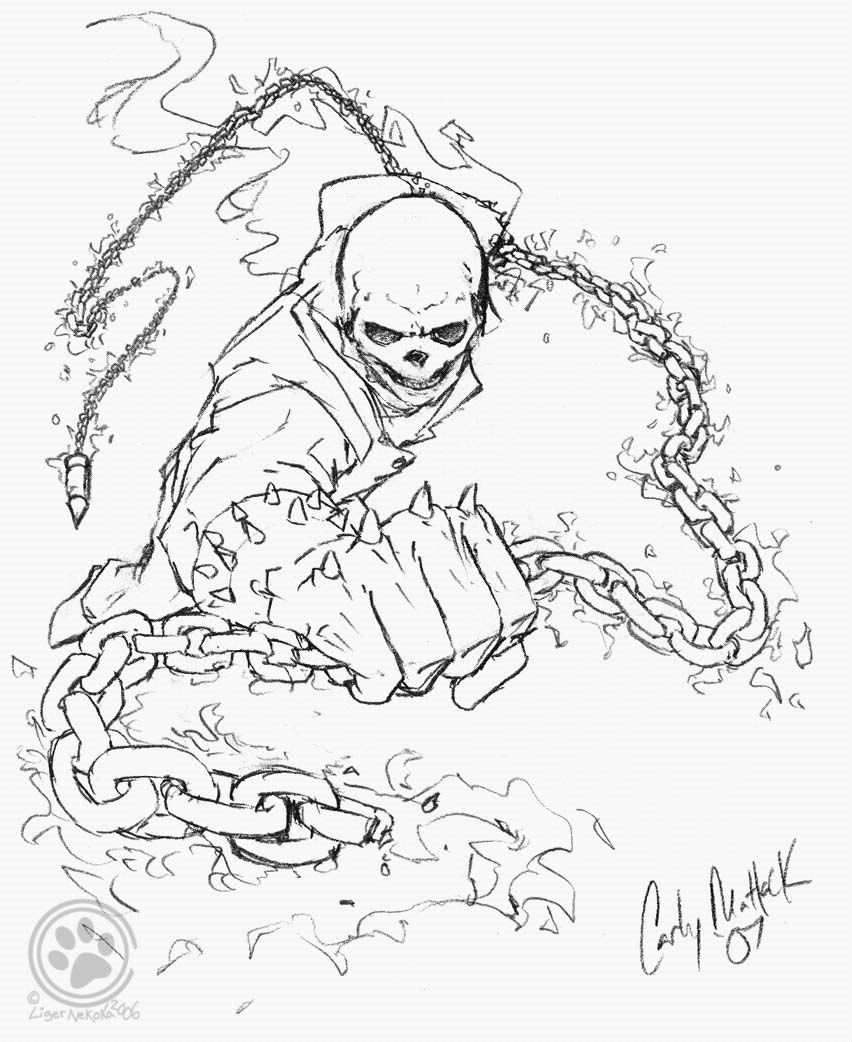 Ghost Rider Coloring Pages With Images Superhero Coloring Pages Ghost Rider Coloring Pages To Print