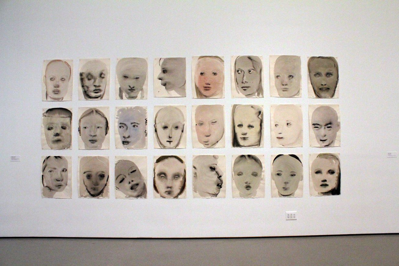 Marlene Dumas, Chlorosis (Love sick), 1994, Inch, gouache, and synthetic polymer paint on paper.