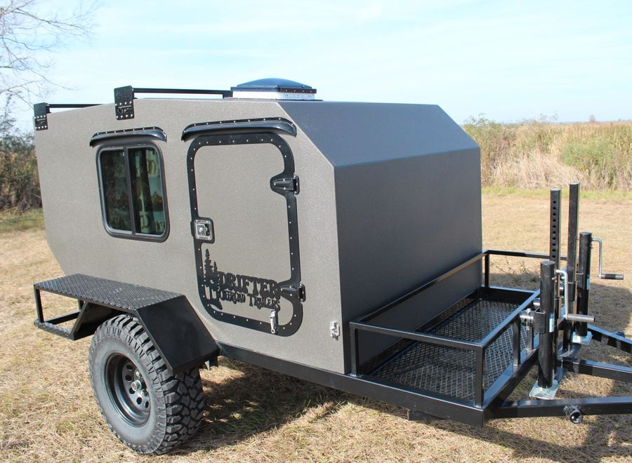 Pin by D O A  on Crazy ass off-road trailers | Diy camper trailer