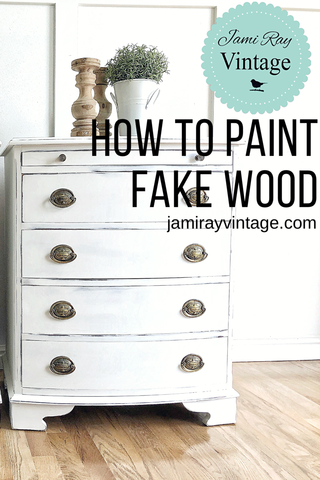 How To Paint Fake Wood Painting