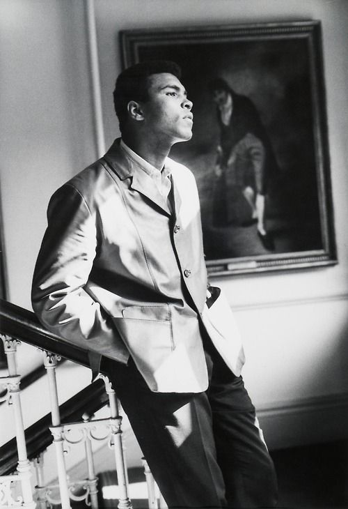 Cassius Clay, professional fighter, was impugned because he refused to fight in a war which was heavily trooped with Blacks who had no choice due to the Draft.