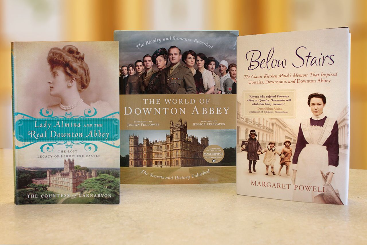 Downton abbey books see photos of the uk period piece