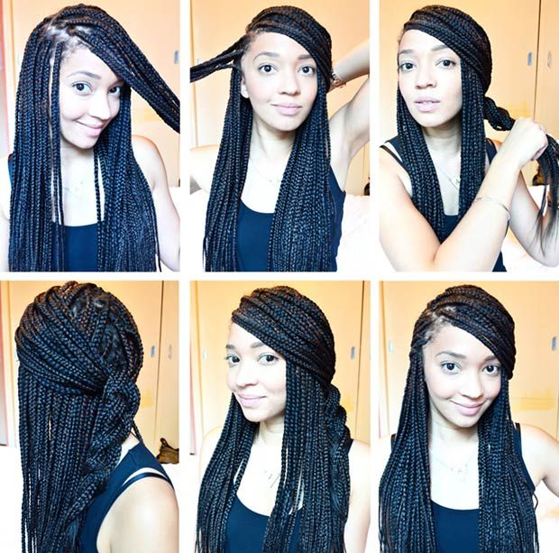 10 gorgeous and creative box braid style tutorials