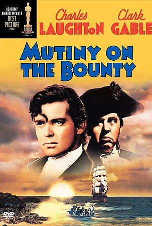 Mutiny On The Bounty 1936 8th Film To Win The Academy Awards