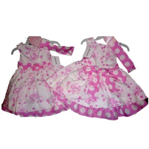 Savannah Mädchen Sommer Petticoat Kinder Kleid Haarband ...