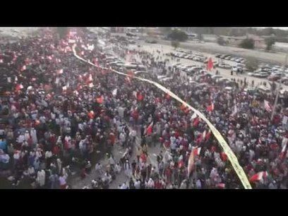 #Occupy #Bahrain: The largest #demonstration