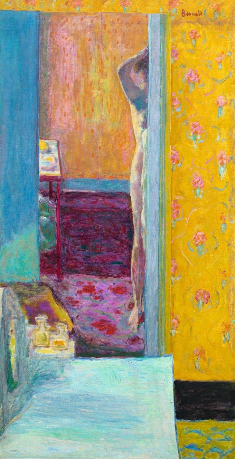 Painting by French artist Pierre Bonnard (1867 - 1947)
