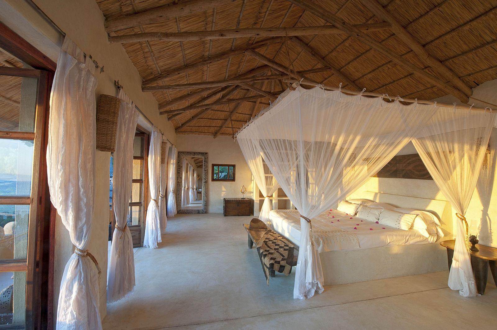 Romantic Four Poster Beds mkulumadzi | malawi | chalet at mkulumadzi lodge | safari lodges