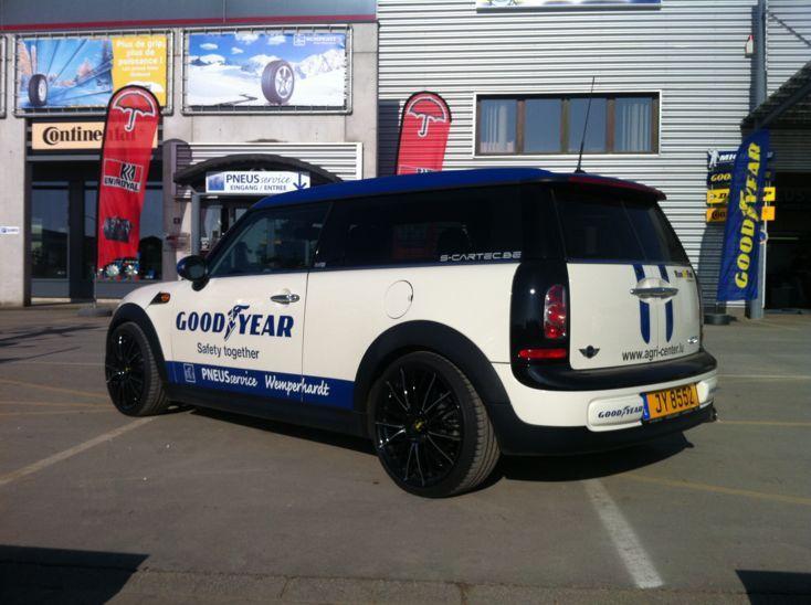 Dotz Rapier On Mini Clubman Dotz Alloy Wheels Mini Clubman Cars