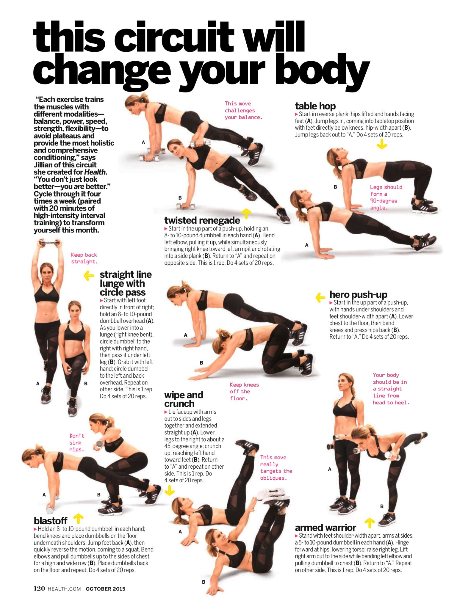 Pin By China Catt On You Better Work Pinterest Workout Full Body Circuit With Weights Workouts Exercises And Fitness Plan