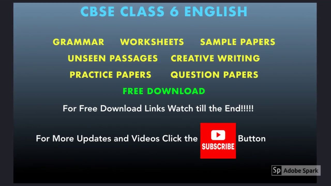 Ncert Class 6 English Worksheets Sample Papers Grammar Question Writing Practice Paper Question Paper This Or That Questions [ 720 x 1280 Pixel ]