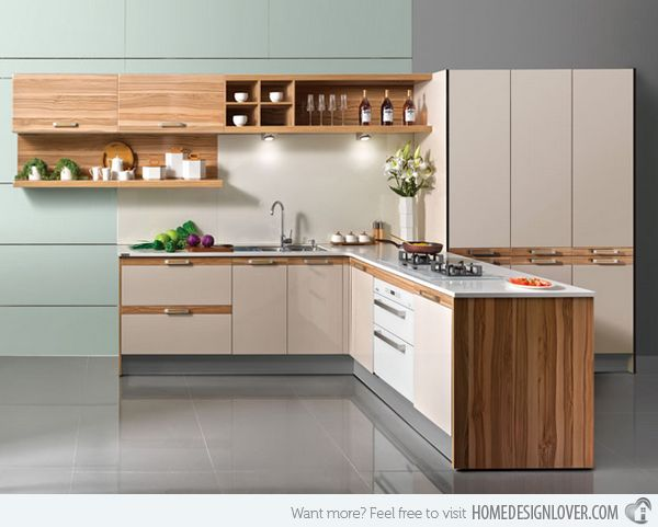 15 Beautiful L Shaped Kitchens