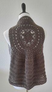 Free crochet pattern. Pattern category: Vests. Aran weight ...