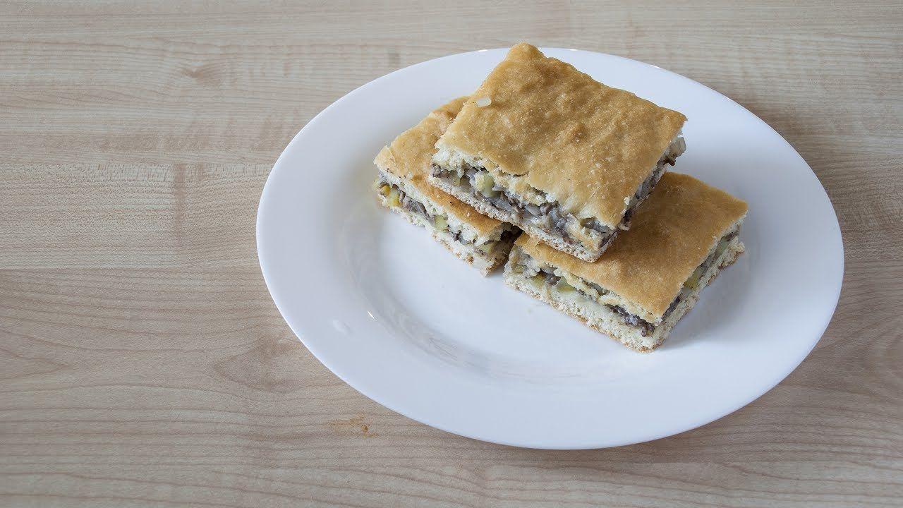 рецепт пирога с картошкой и рыбой в духовке рецепт с фото