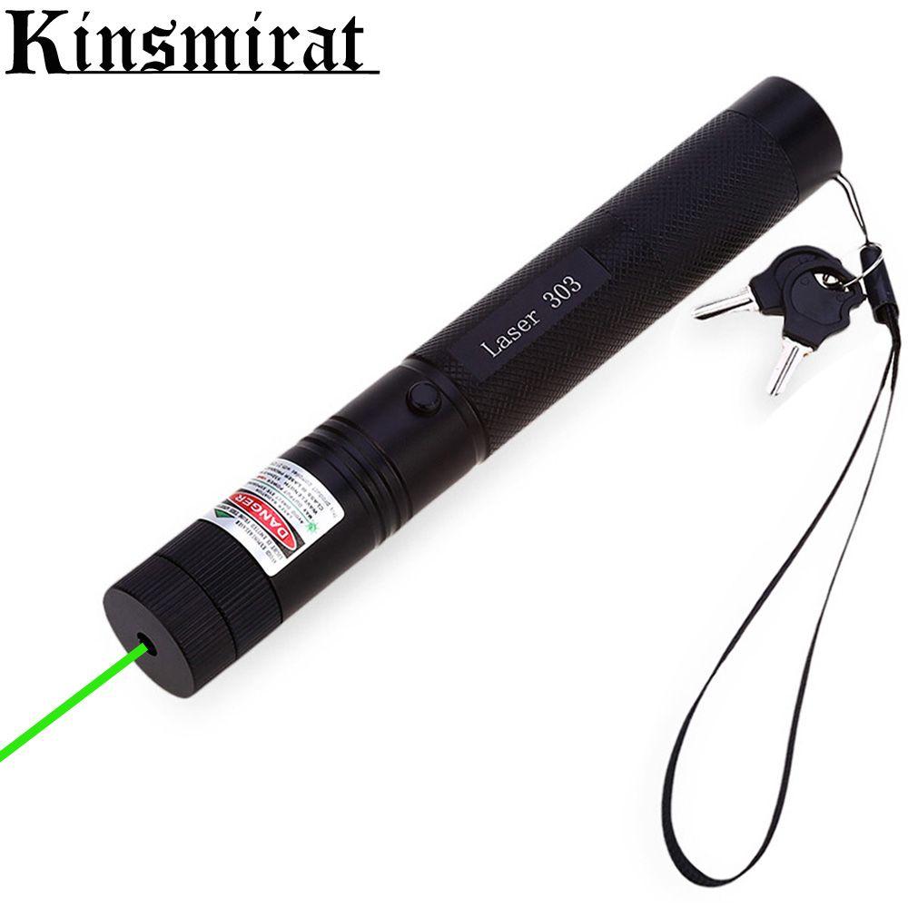 녹색 레이저 포인터 보자마자 강력한 532nm에서 10000 메터 소총 범위 Riflescope CNC 레이저 고정 초점 스타 캡