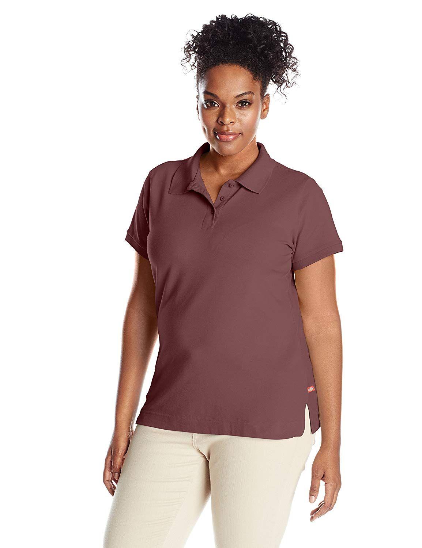 Dickies juniors plus size short sleeve polo shirt learn