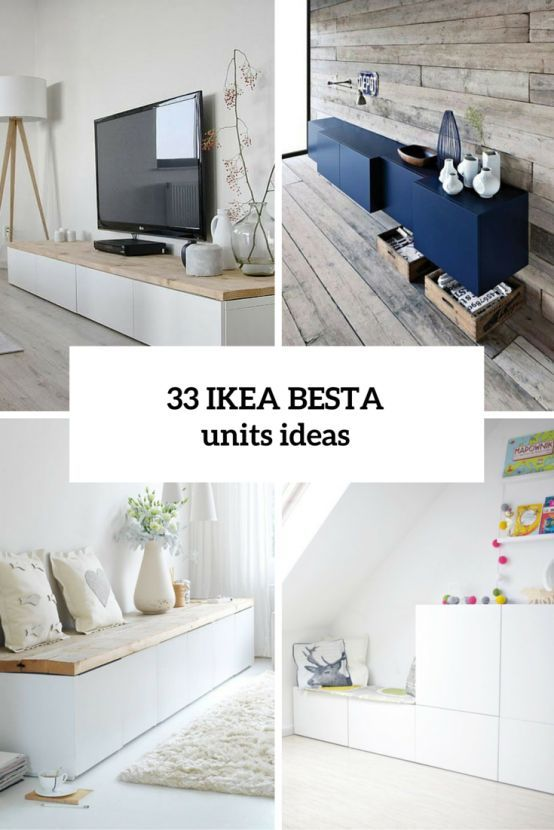 Ordinaire 33 Ways To Use IKEA Besta Units In Home Décor