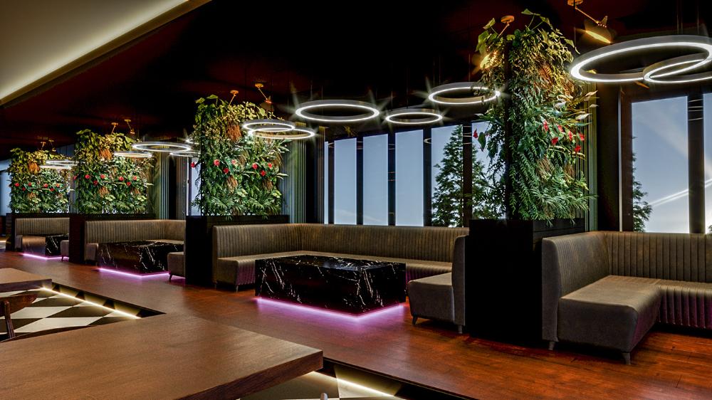 Night Club Interior Design On Behance Nightclub Design Club Design Interior Cafe Interior Design