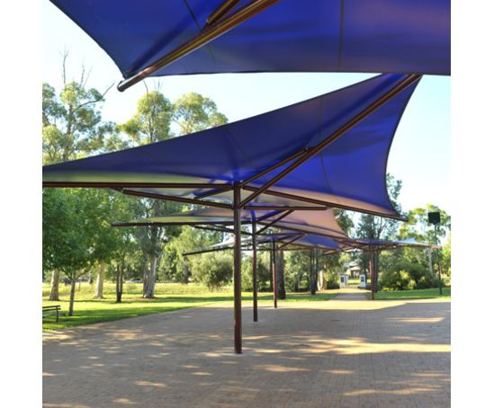 Star Sail tensile fabric canopy shelter walkway  sc 1 st  Pinterest & Star Sail tensile fabric canopy shelter walkway | Interesting ...