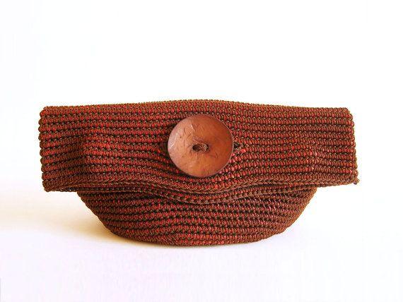 Patrón de gancho para bolso-cartera en tapestry crochet. Podrás ...