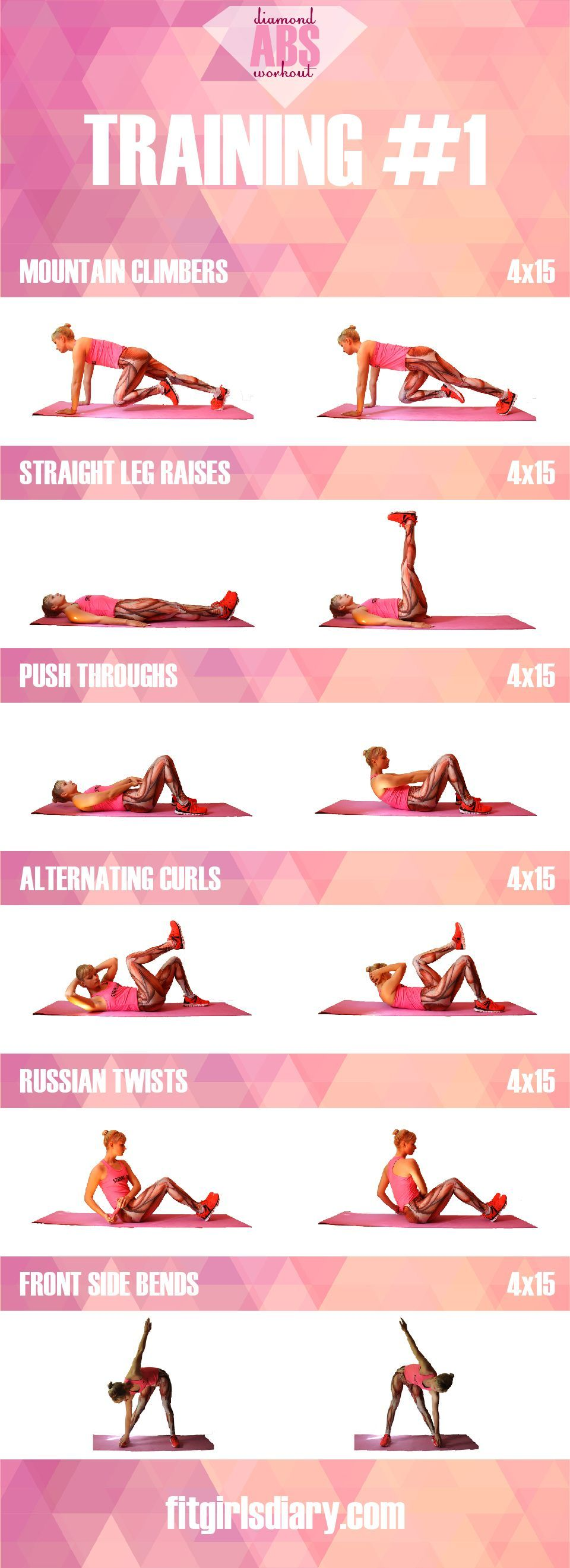 Workouts for women to get abs