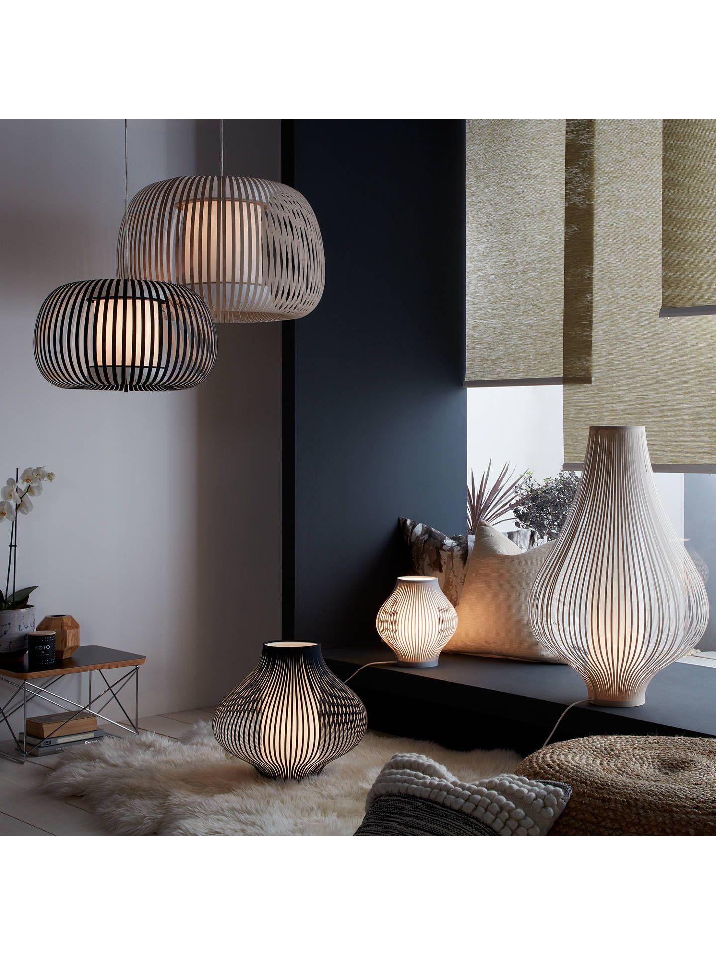 John Lewis Partners Harmony Large Ribbon Ceiling Light Black En 2020 Luminaires Salle A Manger Deco Maison Deco Salon